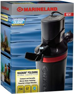 MarineLand Magnum Polishing Internal Canister Filter reviews and user guide