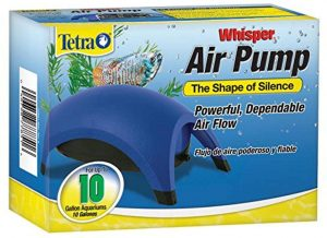 Tetra Whisper Easy to Use Air Pump for Aquariums reviews and user guide
