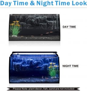 hygger Horizon 8 Gallon LED Glass Aquarium Kit reviews and user guide