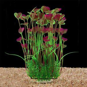 QUMY Large Aquarium Plants Artificial Plastic Fish Tank Plants Decoration Ornament Safe for All Fish reviews and user guide
